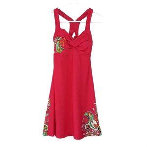 Athleta Salina Montego Floral Pink Swim Dress